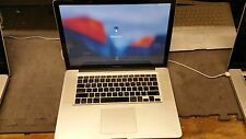 "Apple MacBook Pro 15"" 2008 2.4GHz Core 2 Duo 500GB HDD 2GB Nvidia 256MB  A1286"