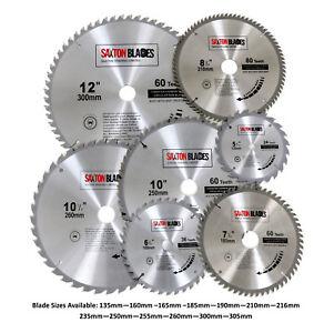 Saxton TCT Circular Wood Saw Blades 135mm to 305mm fits Bosch Dewalt Festool etc
