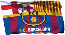 Barcelona Flag Banner 3x5 ft Spain Soccer Bandera Messi Catalunia Limited Edtn