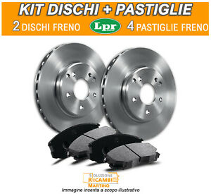 Kit Dischi e Pastiglie Freni ANTERIORI Honda CIVIc V   1.6 92 KW 125 CV