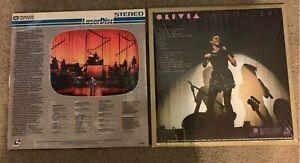 2 Laserdisc Concert Lot - Olivia Newton-John and Lisa Minnelli