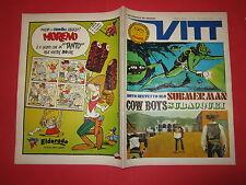 SETTIMANALE VITT N°28-LUGLIO 1969  INSERTO VITT AVVENTURA N°28 MERCKX HARDY