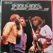 BEE GEES 2LP: HERE AT LAST...LIVE (UK; RSO 2479 188/189)
