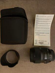 Sigma Art 35mm f1.4 Nikon F