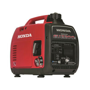 Honda 663520 EU2200i 120V 2200W 0.95 Gal. Portable Generator w/ Co-Minder New