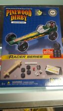 Official BSA Pinewood Derby Kit  Racer Series Dragster Boy Scouts of America