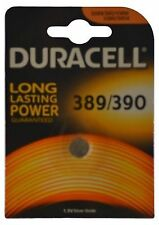 1 X Battery Silver Oxide Button Cell 389/390 1.5v 68124 Duracell Watch