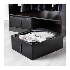 IKEA SKUBB Custodia, scatola contenitore di stoffa porta abiti piccolo nero