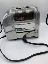 Dualit 2 Slice Toaster 20293 2SLUS Chrome Electric Classic Crumb Tray England
