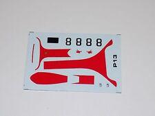 1/43 decals sheet Tecnomodel  for Ferrari 250 Testa Rossa Car #8 Part #103