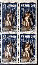 Francobolli nuovo REUNION Yt 266 BLOCCO 4 1947