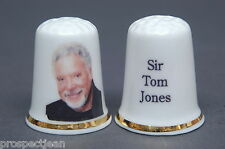 Musical Knights 'Sir Tom Jones' China Thimble B/137