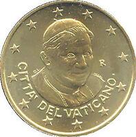 50 Centavos Vaticano 2011 Fior De Acuñación Rara Vaticano Vatikan Único Raro