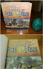 SIGNED Art of George R.R. Martin's A Song of Ice & Fire