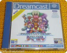 Phantasy Star Online videogame Sega Dreamcast