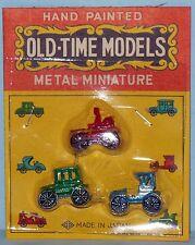 VINTAGE OLD TIME MODELS METAL MINIATURES DOLLHOUSE FURNITURE