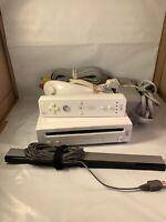 Nintendo Wii Console White Console GameCube Comp Bundle Controller Cables Games