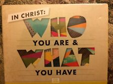 IN CHRIST WHO YOU ARE & WHAT YOU HAVE 4 CD SERIES NEW & SEALED BY JOYCE MEYER