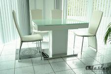 Tisch Esstisch Wohnzimmer  Küchentisch Säulentisch ausziehbar weiß NEU 888w