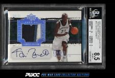 2003 Exquisite Noble Nameplate Kevin Garnett AUTO PATCH /25 BGS 8.5 (PWCC)