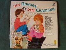 DES RONDES ET DES CHANSONS / PETITS CHANTEURS VINCENNES LP DISQUE LIVRE ALB 371
