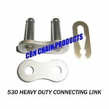 530 Connecting link, Master Link 530 Chain Harley, Triumph, Honda, ATV