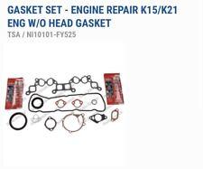 10101-FY525 O/H Gasket Set For Nissan K21/K25 Engine Graphite Head Gasket