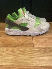 Nike Air Huarache Run 318429-304 Action Green Phantom White  Men's Size 10.5