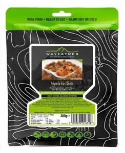 Wayfayrer Vegetable Chilli Ready-to-Eat Camping Food  Meals