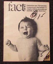 1966 FACT Magazine v.3 #4 VG- Circumsision - Rockefeller
