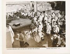 1943 WWII USMC Battle of Tarawa Photo Services on ship before attack
