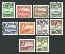 ANTIGUA - 1938 KGVI Values to 5/- *MINT HINGED* SG 98-107 (CV £75+)