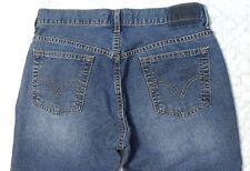 Levis 515 Nouveau Boot Low Stretch Womens Blue Wash Denim Jeans Size 10 Mis M