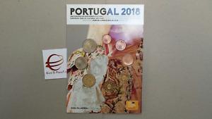2018 Divisionale 8 monete 3,88 EURO PORTOGALLO fdc portugal Португалия
