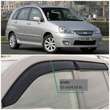 SE50501 Window Visors Vent Wide Deflectors For Suzuki Liana Wagon 2001-2007