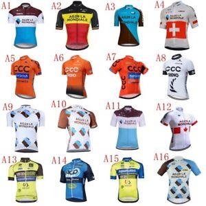 Cycling Jersey Men Bicycle Clothing Short Sleeve Summer Bike T-Shirt Tops A01