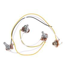 1 Set Wiring Harness-Prewired 2V1T1J for JB Bass Guitar with 3-500k Pots New