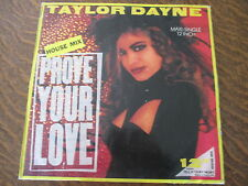 Maxi 45 tours Taylor Dayne - Prove your love