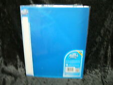 1 x Pukka Ringbinder 25 mm Blue Polypropylene 2 Ring Binder Folder File 7115PFL