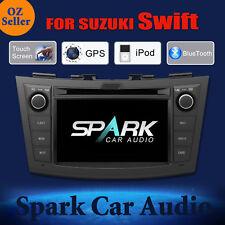 AD GPS DVD SAT NAV IPOD BLUETOOTH USB SD NAVIGATION FOR SUZUKI SWIFT 2011+