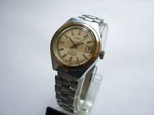 Russian LUCH AUTOMATIC 21 Jewels LADIES Wrist Watch Steel Bracelet 1970's