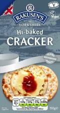 Rakusen's Hi-Baked Crackers Vegan Vegetarian Kosher 150g