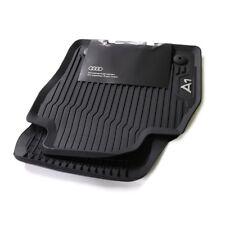 $$$ Original Lengenfelder Premium Fußmatten für Audi A1 S1 GB Nubuk WEIß NEU