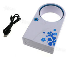 Portable USB Mini Bladeless Fan Air Conditioner Desk Tablet Home/Work Cooling