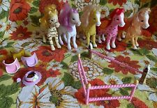 STRAWBERRY SHORTCAKE BANDAI LOT OF 5 FILLIES PONIES SCENTED HORSES ACCESSORIES