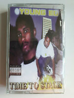 Young Ed – Time To Stack | G-Funk Hip Hop Rap | Cassette Repress Reissue