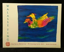 I love swiming in blue water by Walasse Ting PRINT