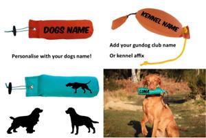 Gundog Dummy - Personalised