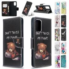 Case For Samsung Galaxy S20 Ultra S20 Plus Magnetic Leather Wallet Flower Cover