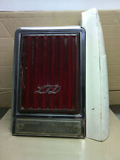 79' - 82' Ford LTD  RH (passenger)  tail light  OEM  ribbed face  lens damaged